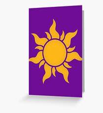 Tangled Kingdom Sun Greeting Card