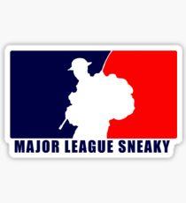"Little Top presents ""Major League Sneaky""  LRRP, LRSC, LRSD Sticker Sticker"