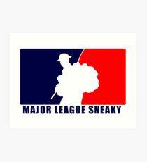 """Little Top presents """"Major League Sneaky""""  LRRP, LRSC, LRSD Sticker Art Print"""