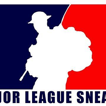 "Little Top presents ""Major League Sneaky""  LRRP, LRSC, LRSD Sticker by FatCrayon"