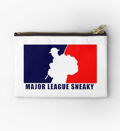 """Little Top presents """"Major League Sneaky""""  LRRP, LRSC, LRSD Sticker Zipper Pouch"""