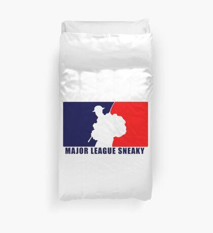 "Little Top presents ""Major League Sneaky""  LRRP, LRSC, LRSD Sticker Duvet Cover"