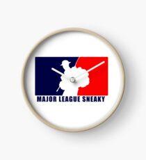 "Little Top presents ""Major League Sneaky""  LRRP, LRSC, LRSD Sticker Clock"