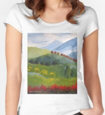 My valley Women's Fitted Scoop T-Shirt
