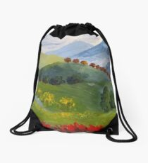 My valley Drawstring Bag