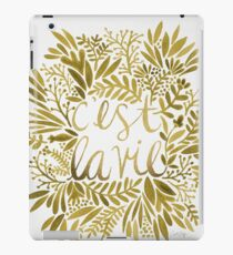 That's Life – Gold iPad Case/Skin