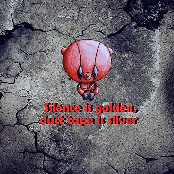 Silence is golden... by ILoveTheQuirky