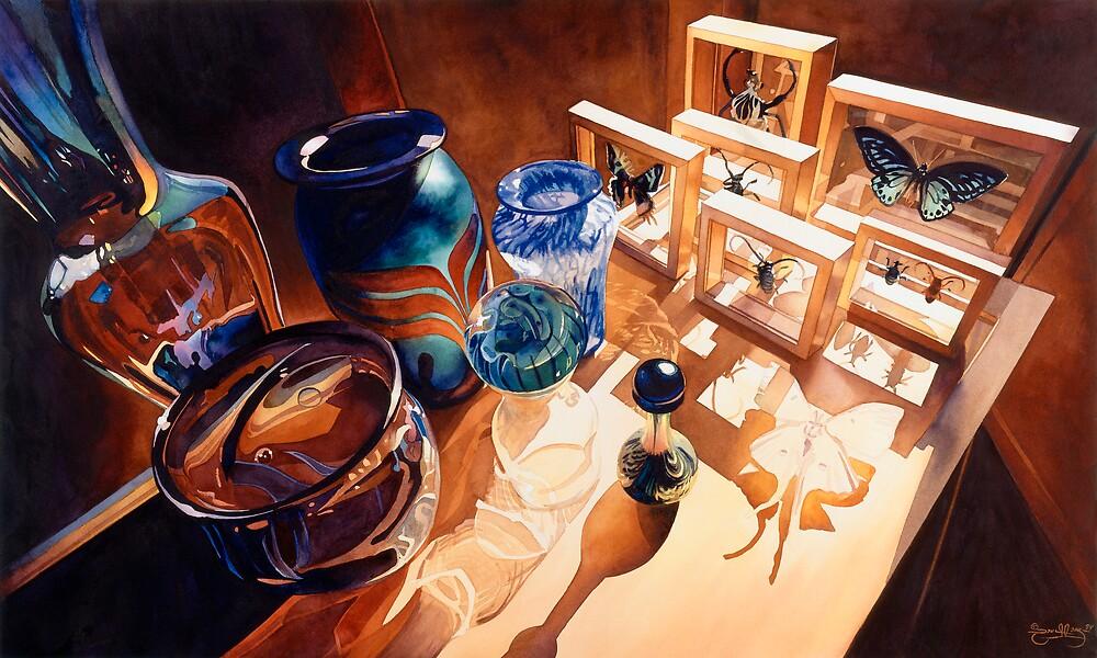 """The Seekers"" Watercolor by Paul Jackson"