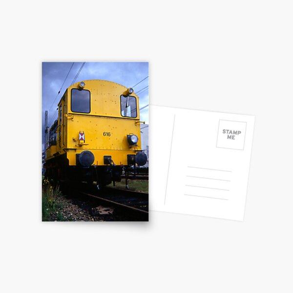 The yellow locomotive Postcard