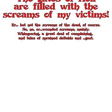 Screams! by inkpossible
