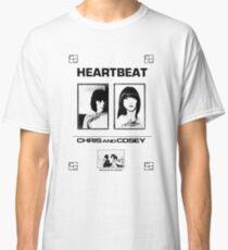 Chris & Cosey - Heartbeat schwarz Classic T-Shirt