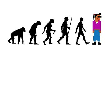 I am a Digital Being - The Evolution of (wo)man...  by PunnyTees