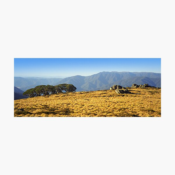 Mt Bogong from Mt Fainters Photographic Print