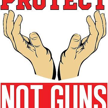 Protect our children not guns T-Shirt 2018 by nemo-shop
