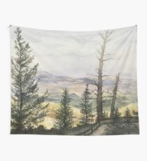 Watercolor Bryce Canyon National Park Wall Tapestry