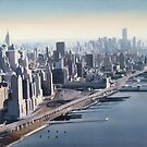 """Manhattan Memories"" New York Watercolor by Paul Jackson"
