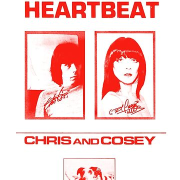 Chris & Cosey - Heartbeat red by SynthSkin