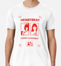 Chris & Cosey - Herzschlagrot Premium T-Shirt