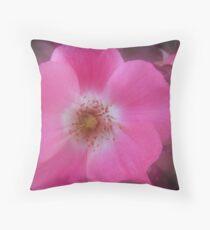 Wild rose of summer Throw Pillow