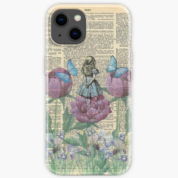 Alice In Wonderland - Wonderland Garden iPhone Soft Case