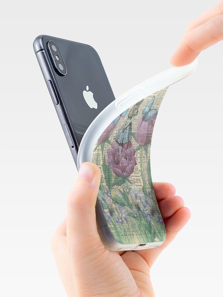 Vista alternativa de Funda y vinilo para iPhone Alicia en el país de las maravillas - Wonderland Garden