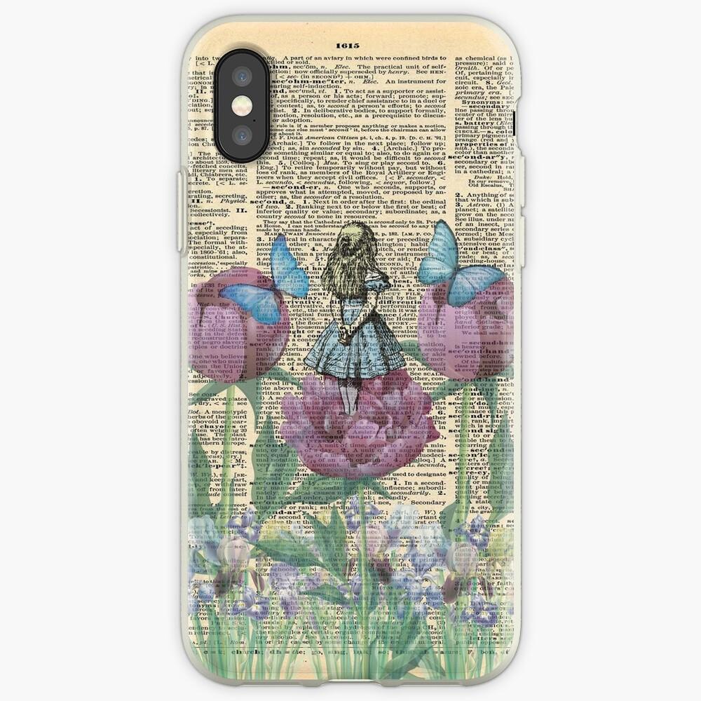 Alicia en el país de las maravillas - Wonderland Garden Funda y vinilo para iPhone