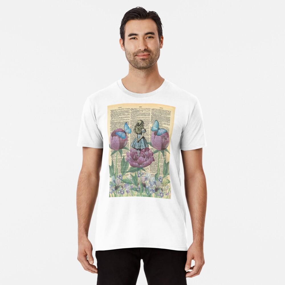 Alicia en el país de las maravillas - Wonderland Garden Camiseta premium