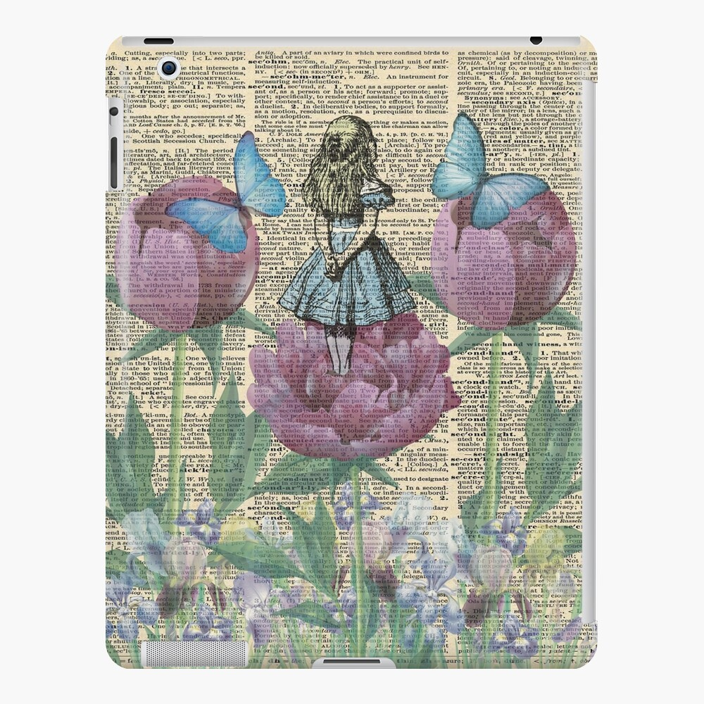 Alicia en el país de las maravillas - Wonderland Garden Funda y vinilo para iPad