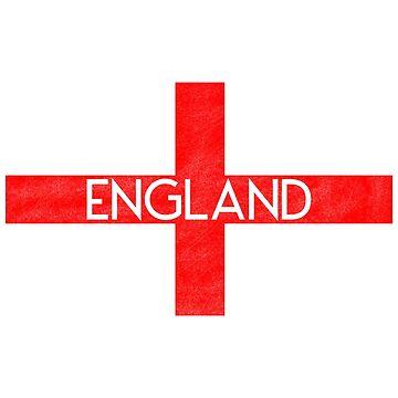 England Flag 2 by sub7anallah
