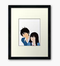 Kimi ni Todoke Framed Print