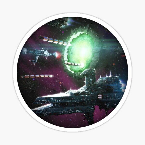 Warpgate Sticker