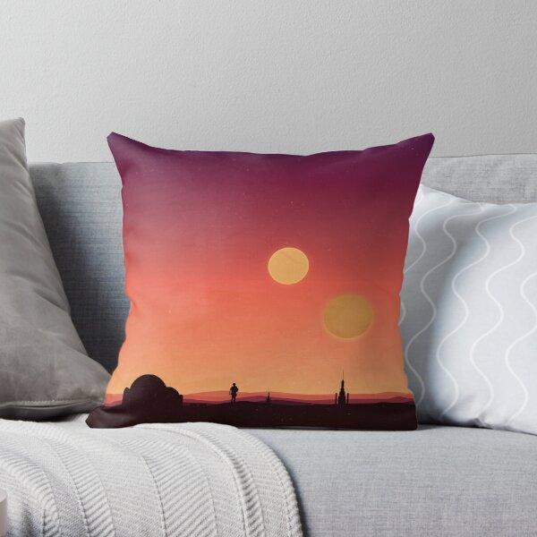 Tatooine Throw Pillow
