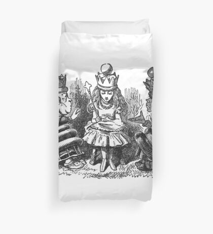 Three Queens Duvet Cover