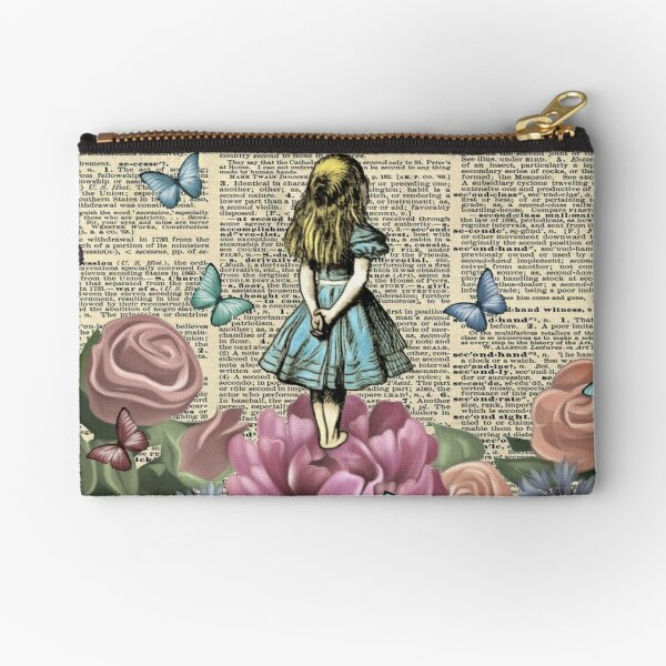 Alice In Wonderland - Wonderland Garden Zipper Pouch