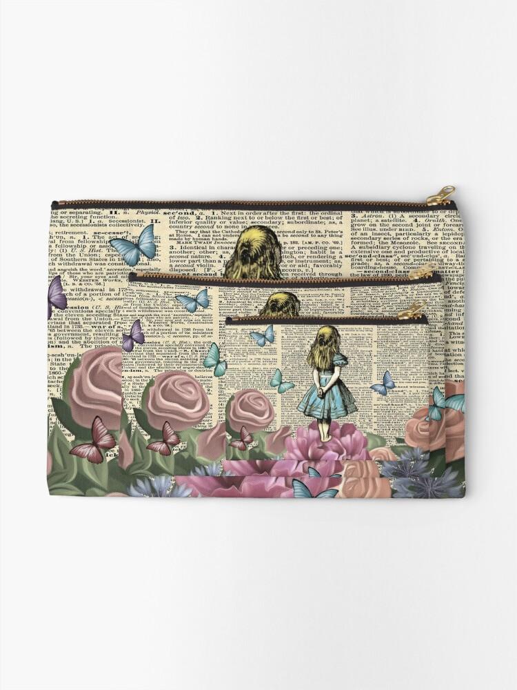 Alternate view of Alice In Wonderland - Wonderland Garden Zipper Pouch