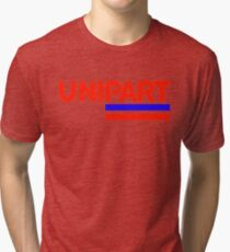 Unipart - The Parts of Quality Tri-blend T-Shirt