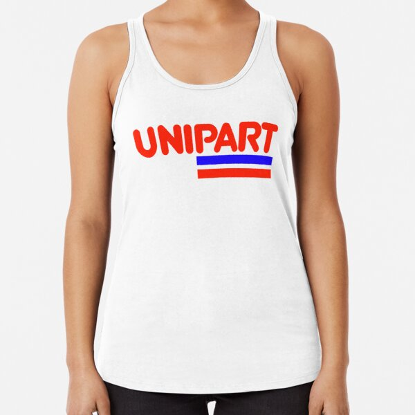 Unipart - The Parts of Quality Racerback Tank Top