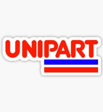 Unipart - The Parts of Quality Sticker
