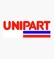 Unipart - The Parts of Quality Photographic Print