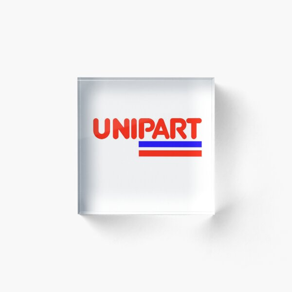 Unipart - The Parts of Quality Acrylic Block