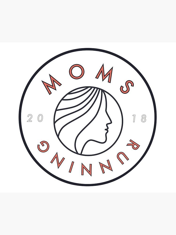 Moms Running T-Shirt by MomsRunning