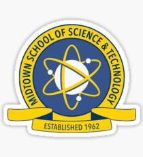 Midtown School of Science and Technology Spider-Man Homecoming Sticker