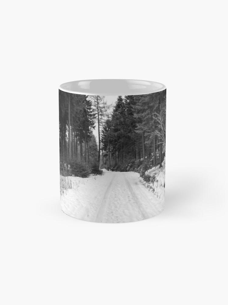 Alternative Ansicht von Winterlandschaft Tasse