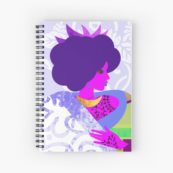 Queen's Robe Spiral Notebook