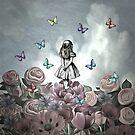 «Alicia en el país de las maravillas - Wonderland Garden» de maryedenoa