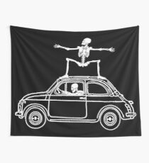 Fiat Surfing Wall Tapestry