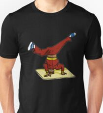 Headspin on Corrugated cardboard Unisex T-Shirt