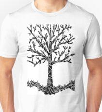 Tree Black Unisex T-Shirt