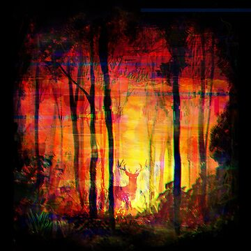 Forest Fire  by CleoLant