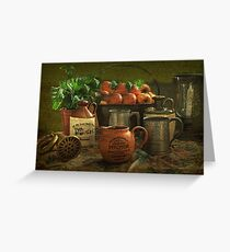 Scrumpy Jack , Still Life .     Greeting Card